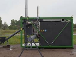 Charcoal-burning machine