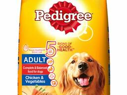 Dog food canned dry available in good quantities