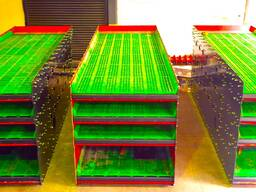 Горизонтальный вибрационный грохот высокой мощности 2200x6000mm
